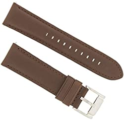 Fossil Watch Strap Quick Release L FS4813 Original Replacement Band FS 4813 22 mm Brown Leather Watch Strap