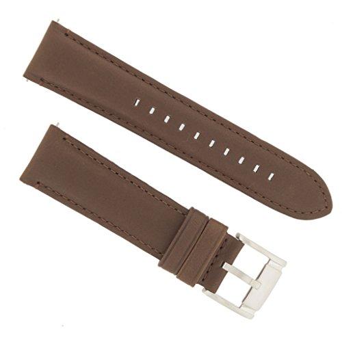 Fossil Uhrband Wechselarmband LB-FS4813 Original Ersatzband FS 4813 Uhrenarmband Leder 22 mm Braun (22 Mm Fossil Watch Band)