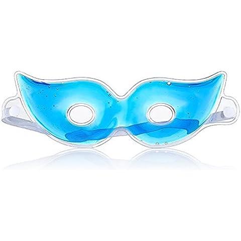 Máscaras de ojo de frío/calor de gel terapéutico