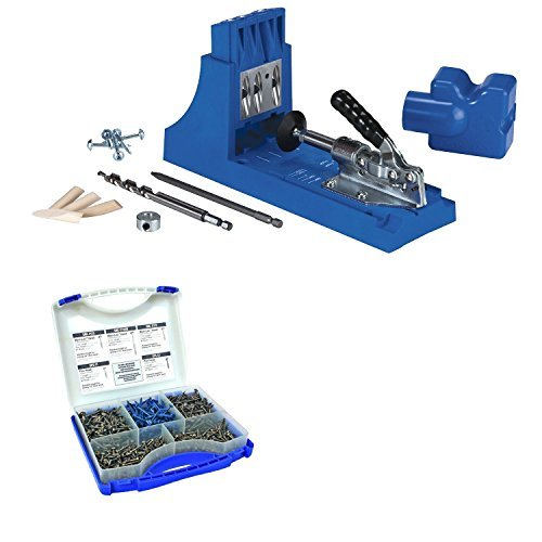 Kreg Jig K4 Pocket Hole System With SK03 Pocket-Hole Screw Kit by Kreg -