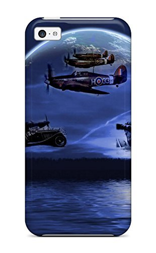 Hot Tribute To Douglas Bader, Group Captain, Raf First Grade Tpu Phone Case For Iphone 5c Case Cover (Case Douglas Les Paul)