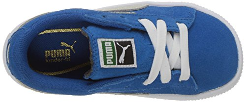 Puma Kids Suede Classic Sneakers Snorkel Blue-puma White