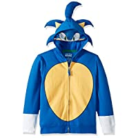 Sega Little Kids Sonic The Hedgehog Costume Hoodie, Royal, 7