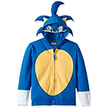Sega Big Kids Sonic The Hedgehog Costume Hoodie, Royal, M-10/12