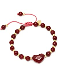 Lola Rose Larah Bracelet Red Plum Quartzite