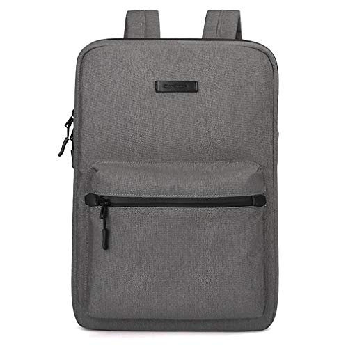 Faukku Premium Laptop Rucksäcke, Leichter Rucksack für Mädchen Schulrucksack Damen Herren College Bookbag,Darkgray,14inches (Hp Inspiron Laptop-festplatte)