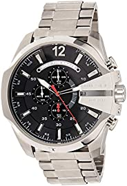 Diesel Mega Chief For Men Stainless Steel Band Watch