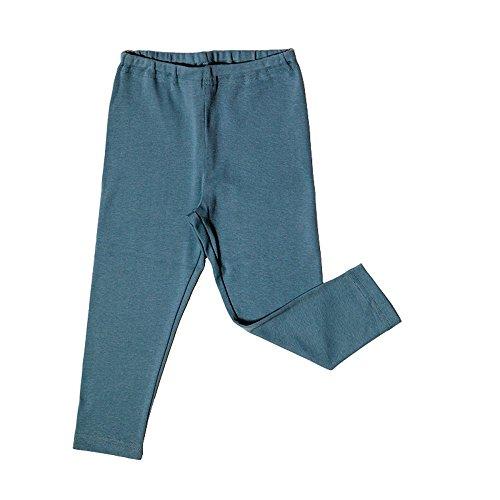 Leela Cotton Baby/Kinder Leggings Bio-Baumwolle, Taubenblau, Gr. 86 Baumwolle Baby-leggings