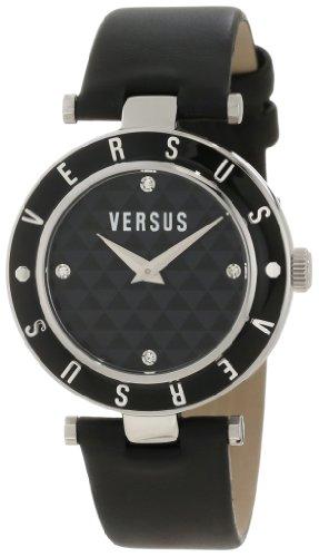 Versus-Versace-3C71200000-Reloj-para-mujeres-correa-de-cuero-color-negro