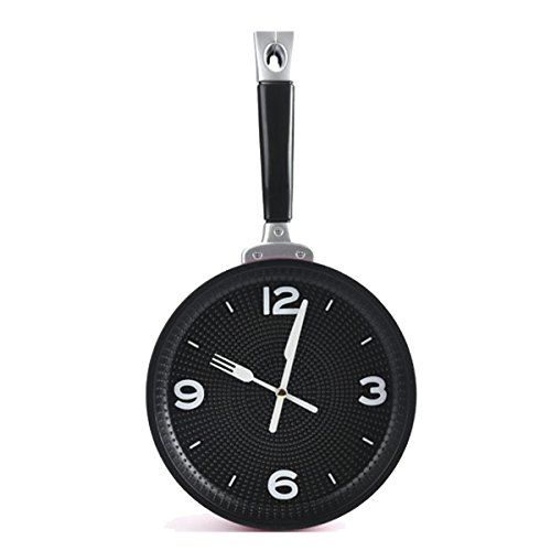 PRECIO REBAJADO! Reloj de pared 19,5 cm Sarten Rosa
