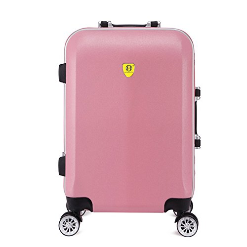 hoom-chariot-a-roues-en-aluminium-courant-universel-valise-cabine-bagagesroseh65l42w26-cm