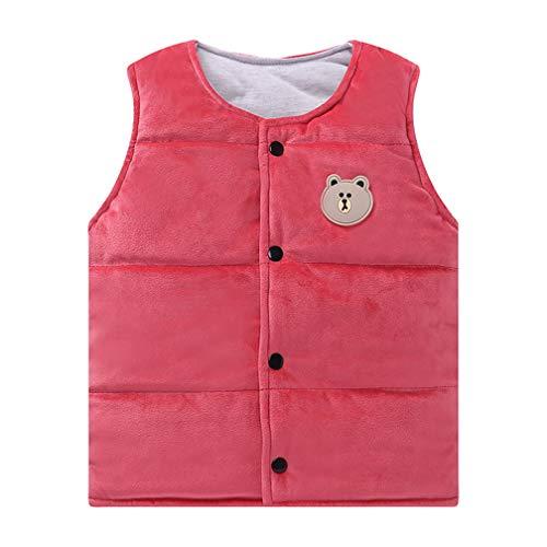 �rmellos, warm, Jakcet, Daunenweste für Kinder, Jungen und Mädchen, color 5, 1T-2T ()