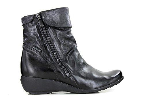 Mephisto-Chaussure Bottine-SEDDY Noir cuir 7900-Femme Noir c