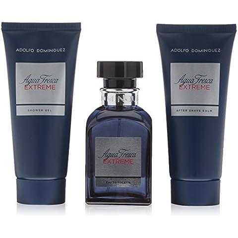 Adolfo Dominguez - Agua Fresca Extreme (Eau de Toillete, After Shave, Shower Gel)