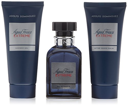 Adolfo Dominguez - Agua Fresca Extreme (Eau de Toillete, After Shave, Shower Gel)