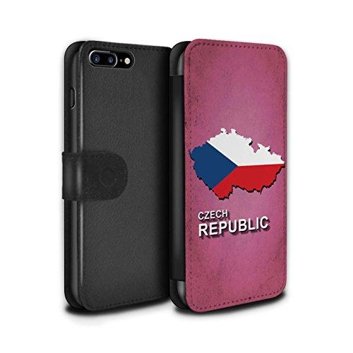 Stuff4 Coque/Etui/Housse Cuir PU Case/Cover pour Apple iPhone 5C / Italie/Italien Design / Drapeau Pays Collection Tchèque/Czechian