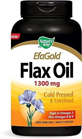 Nature's Way Flax Oil 1,300 mg