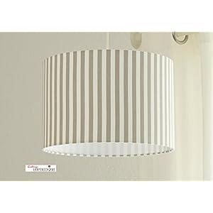 Lampenschirm - Streifen - 35cm