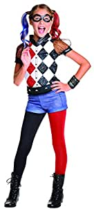 Rubie's 620712 - Costume Harley Quinn, Multicolore, L