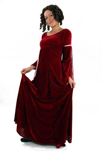 Kostüm Kleid Mittelalter Burgfräulein Gothic Romanik 44 - 5