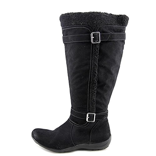Naturalizer Frost Wide Calf Simili daim Botte d'hiver Black