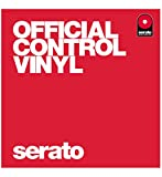 Serato SCV-PS-RED-OV Performance Control Vinyl Platte 12 Zoll, 2 Stuck, rot