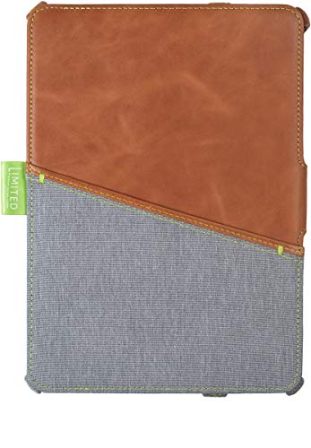 Gecko-Apple iPad 9.7 (2017-2018) Limited Cover, real Leather Gecko Guard