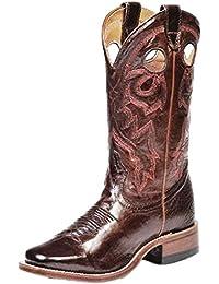 Botas de los EE.UU.-Botas western BO-8043-64-C (pie normal), diseño de mujer, color marrón