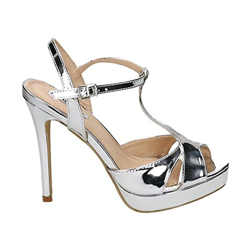 Damen Schuhe Pumps Peep Toe High Heels Gold 38 1iO75Mm7P