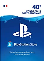 Carte PSN 40 EUR - Compte français | Code PSN à télécharger