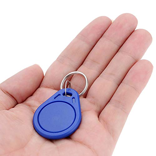 Robodo 5pcs x RFID Tag Key Fob Keyfobs Keychain Ring Token 125Khz Proximity ID Card