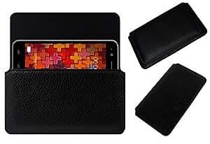 Acm Horizontal Case For Karbonn K9 Smart Cover Holder Black