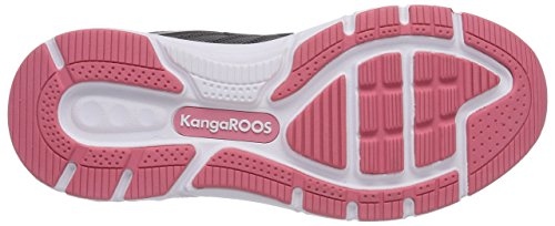 KangaROOS K-Tech 8007, Low-Top Sneaker unisex adulto Grigio (Grau (dk grey/pink 269))