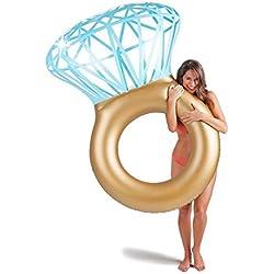 """Flotador barato de anillo con diamante 55 X 47,2 X 15,7"""""""