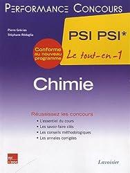 Chimie  PSI PSI* le tout-en-1