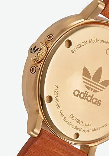 Adidas by Nixon Reloj Analógico para Hombre de Cuarzo con Correa en Cuero