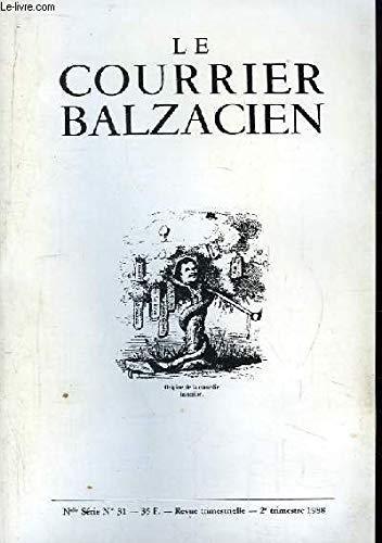 Le Courrier Balzacien. Nouvelle série n°31 : Lettre gebraucht kaufen  Wird an jeden Ort in Deutschland
