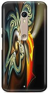 Sand Dunes Designer Printed Hard Back Case cover for Motorola Moto X Style