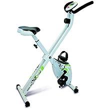Tecnovita by BH - Open & Go - Vélo pliable pour l'exercise - Mixte - Blanc (Blanc/Noir/Vert) - Taille Unique (Reconditionné Certifié)
