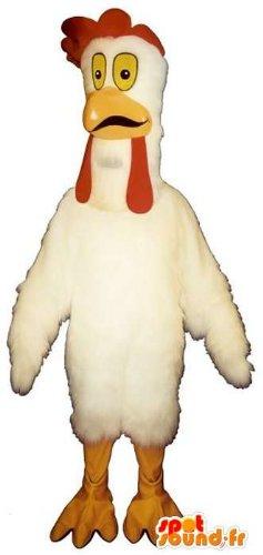 mascota-spotsound-amazon-personalizable-gallina-blanca
