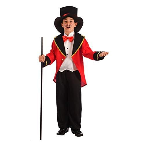 SL Zirkusansager Frack Kostüm für Kinder P2-(6/7 Jahre) ()