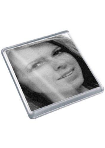 KATE GARRAWAY - Original Art Coaster #js002 (Beschnitten Kate)