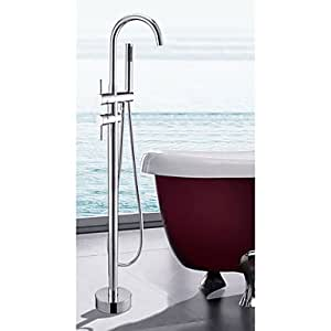 Standger? (Bath Tap with Hand Shower - Chrome Finish Liut