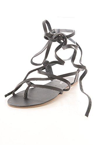 VERO MODAVMKATARINA SANDAL - Sandali alla schiava Donna , Nero (Nero (nero)), 36