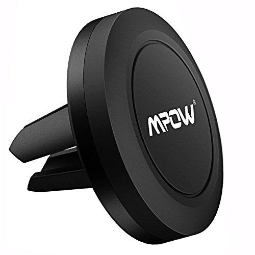 MPOW Auto Magnetische Lüftung Handyhalterung Universal KFZ Lüftungsschlitz-Halterung für iPhone,Samsung,HTC,Huawei,Sony,Nokia usw.