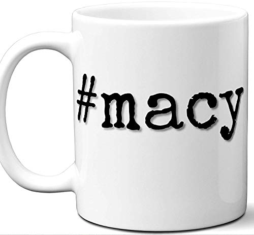 macy Macy Last Name Gift. Cool Surname Mug. Unique Personalized Tea Cup Stamp Sign Family Reunion Men Women Birthday Mothers Day Fathers Day Christmas Coworker.
