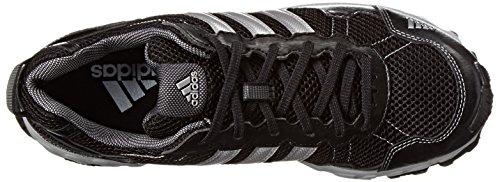 adidas Performance Men's Thrasher 1.1 M Trail Running Shoe Core Black / Metallic / Silver / Light Onix