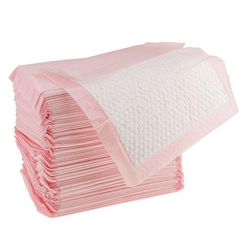 IPOTCH Inkontinenzunterlagen Krankenunterlagen Wickelunterlagen - Rosa, 70 Stück 33x25cm