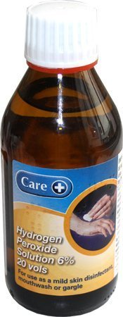 Care Hydrogen Peroxide Solution 6% 20 Vols (Brands May Vary) 200ml