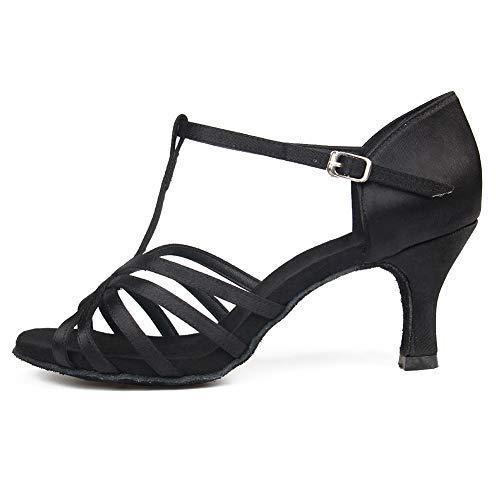 New Design Ladies Women Tango Salsa Ballroom Latin Dance Shoes With Suede Sole 2.36 Inch Heels Great Varieties Sports & Entertainment